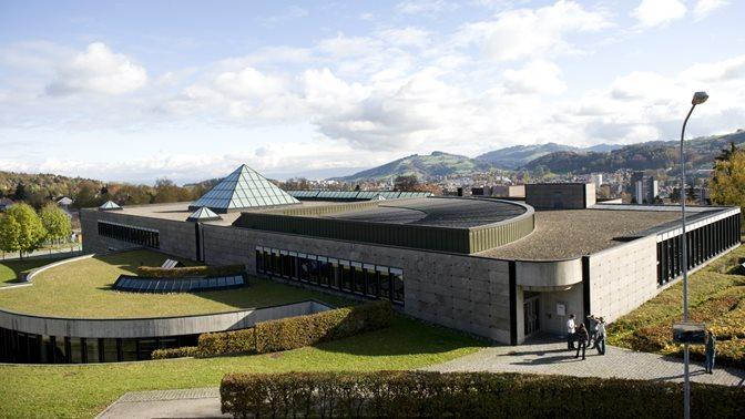 Bibliotheksgebaeude der Universitaet St.Gallen (HSG)
